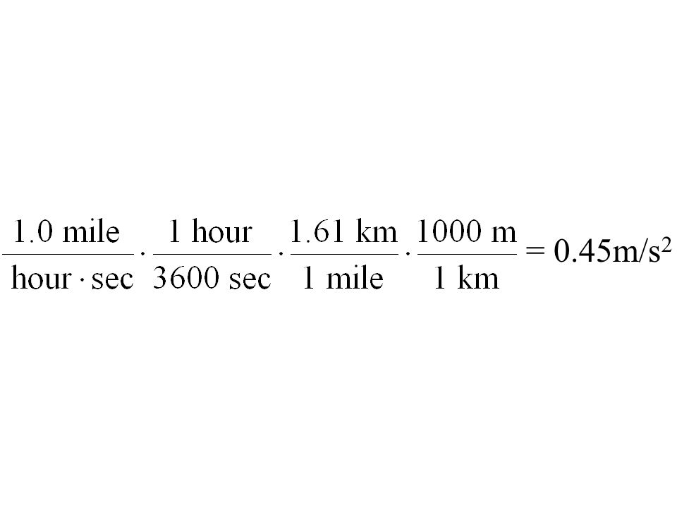= 0.45m/s 2