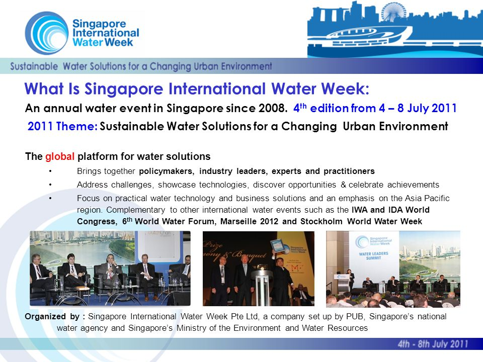 An annual water event in Singapore since 2008.