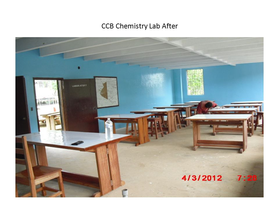 CCB Chemistry Lab After