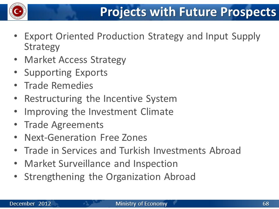 Export Oriented Production Strategy and Input Supply Strategy Market Access Strategy Supporting Exports Trade Remedies Restructuring the Incentive Sys