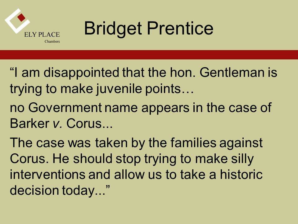 Bridget Prentice I am disappointed that the hon.