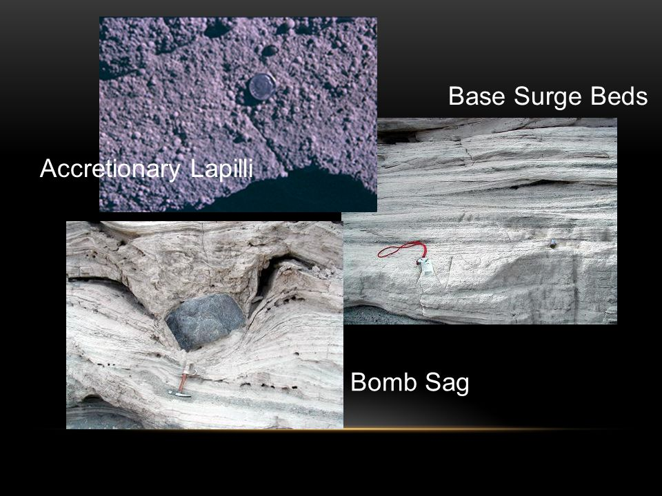 Base Surge Beds Bomb Sag Accretionary Lapilli