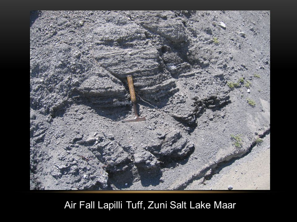 Air Fall Lapilli Tuff, Zuni Salt Lake Maar