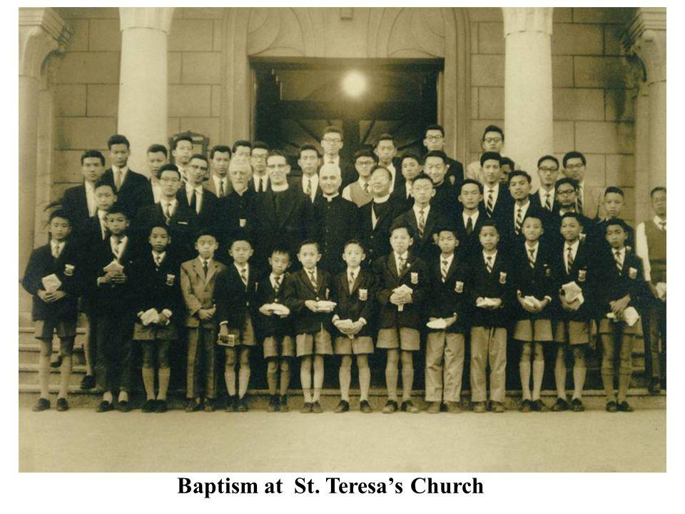 Baptism at St. Teresa's Church