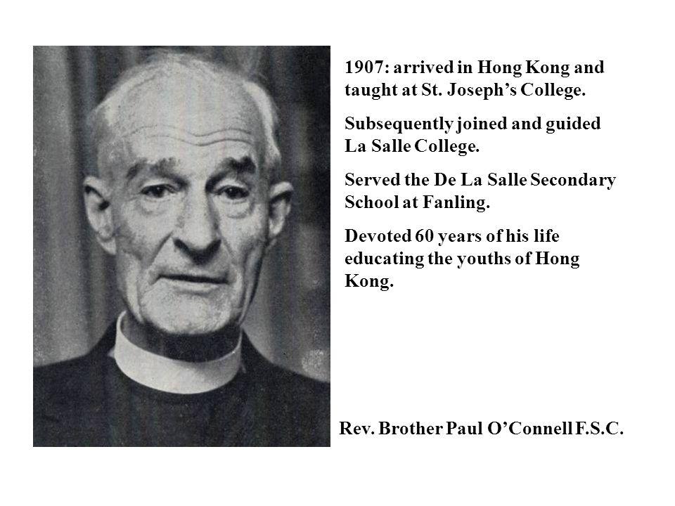 Rev.Brother Cassian Brigant F.S.C.