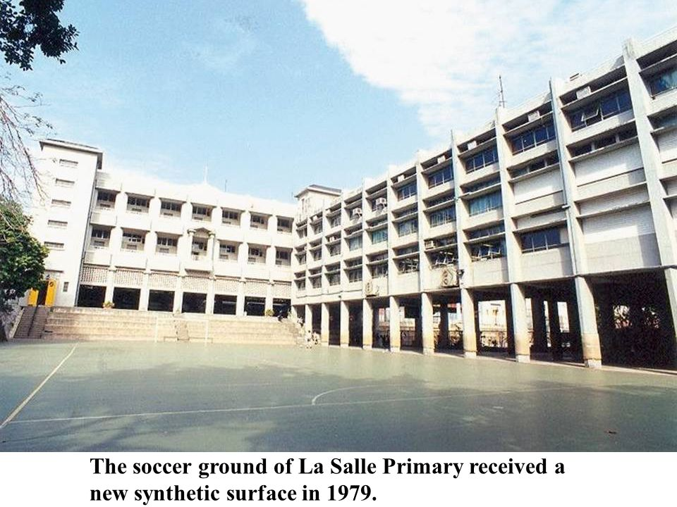 The soccer ground of La Salle Primary received a new synthetic surface in 1979.