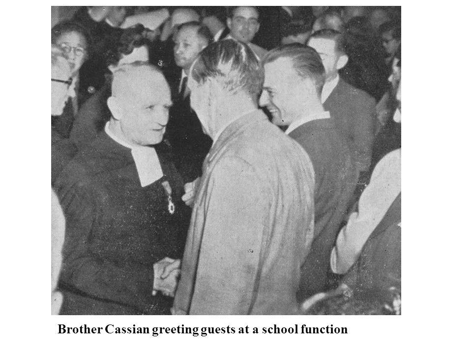 The finest educators on the La Salle College campus in 1963