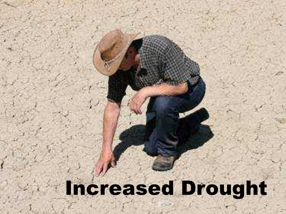 Increased Drought