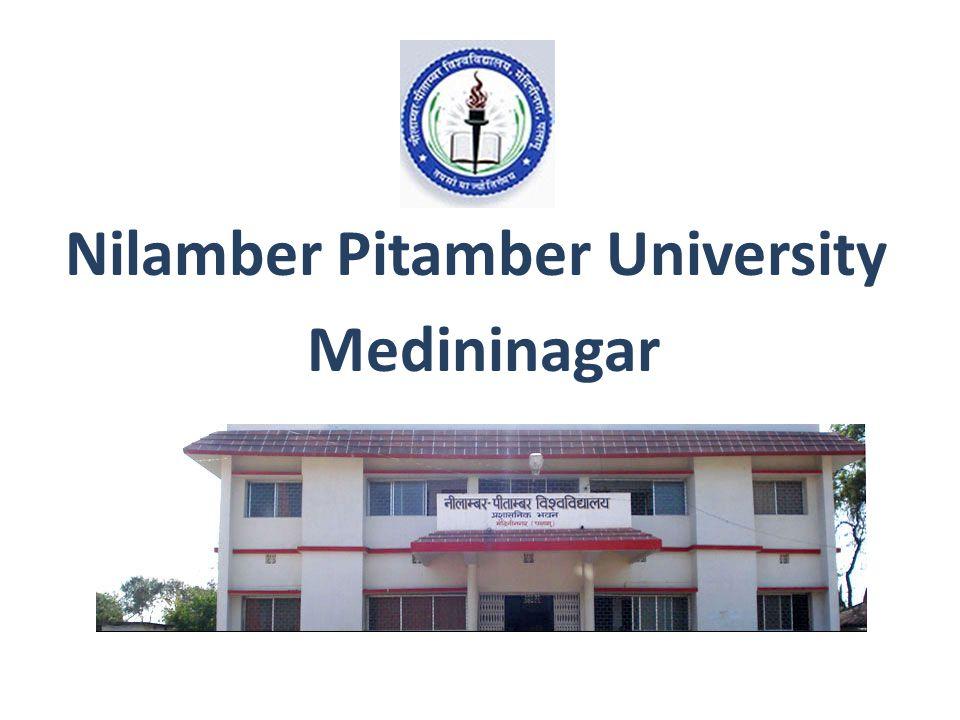 Nilamber Pitamber University Medininagar