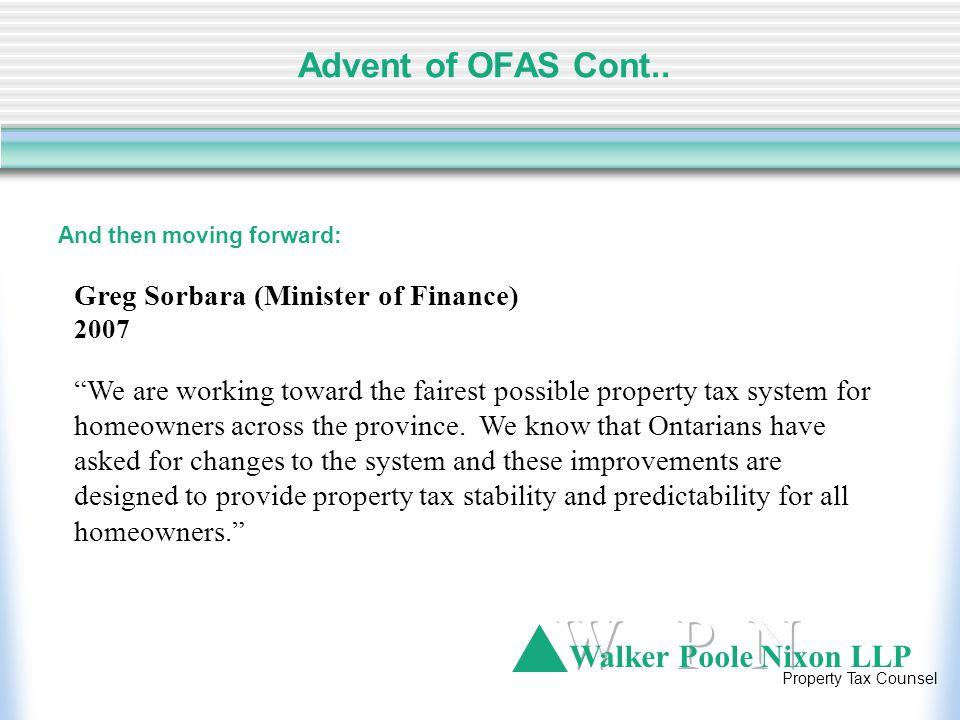 Walker Poole Nixon LLP Property Tax Counsel II.