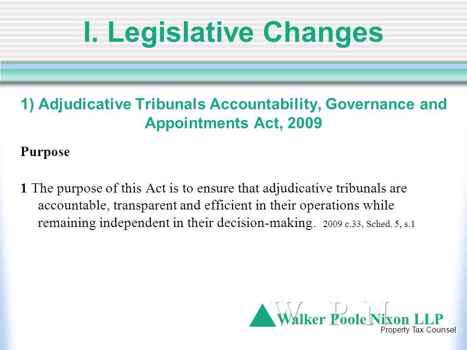 Walker Poole Nixon LLP Property Tax Counsel III.