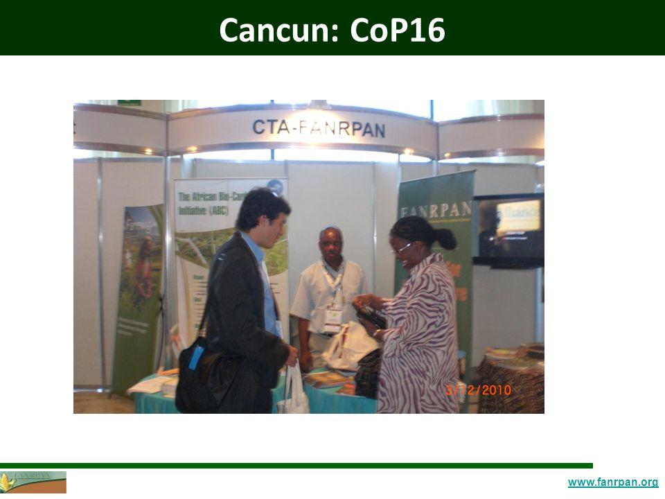 www.fanrpan.org Cancun: CoP16
