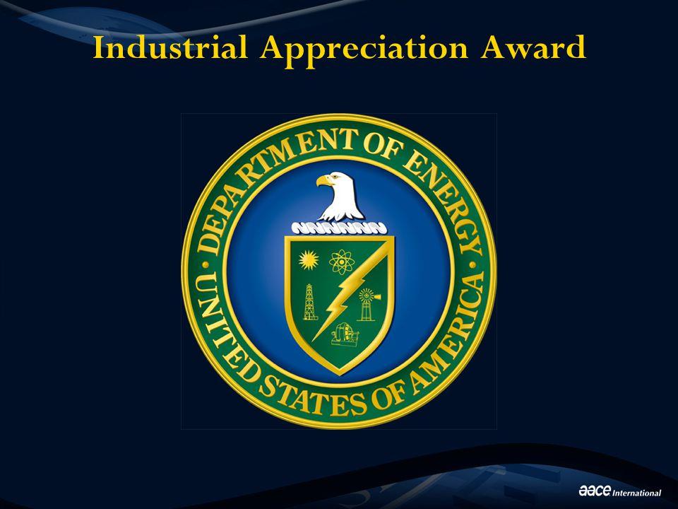 Industrial Appreciation Award
