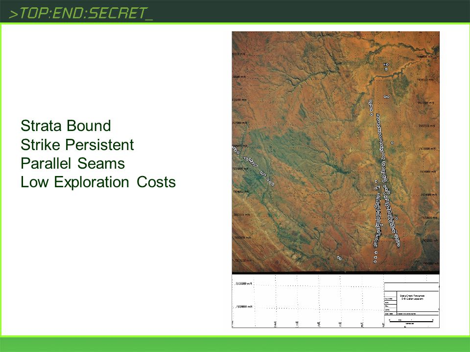 [ Strata Bound Strike Persistent Parallel Seams Low Exploration Costs
