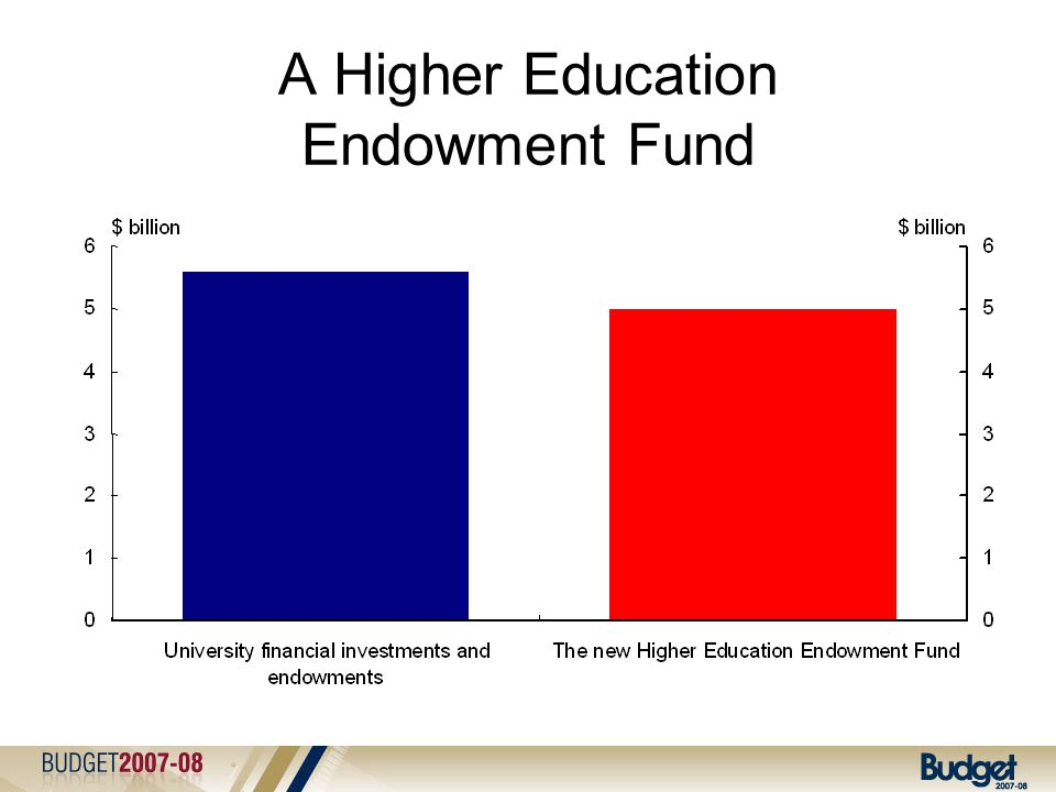A Higher Education Endowment Fund