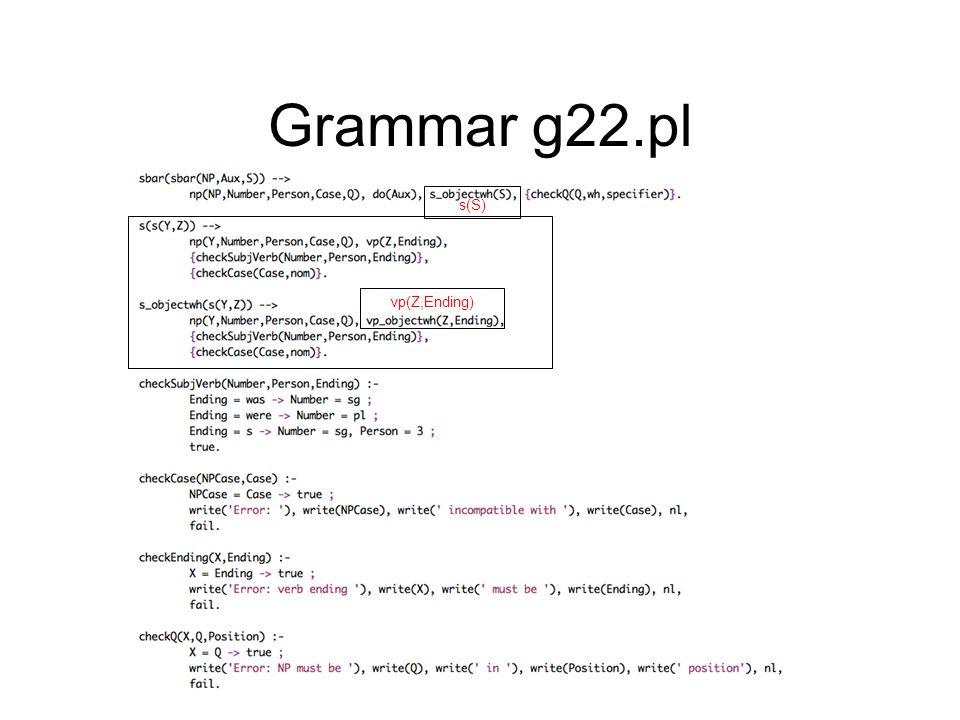 Grammar g22.pl