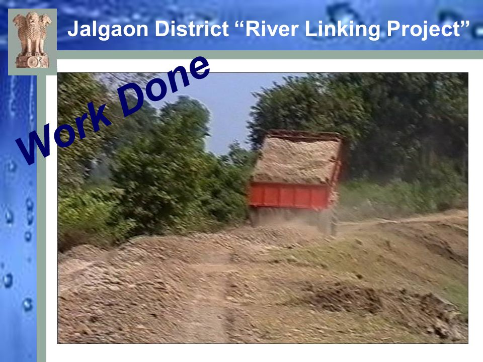 Jalgaon District River Linking Project Work Done