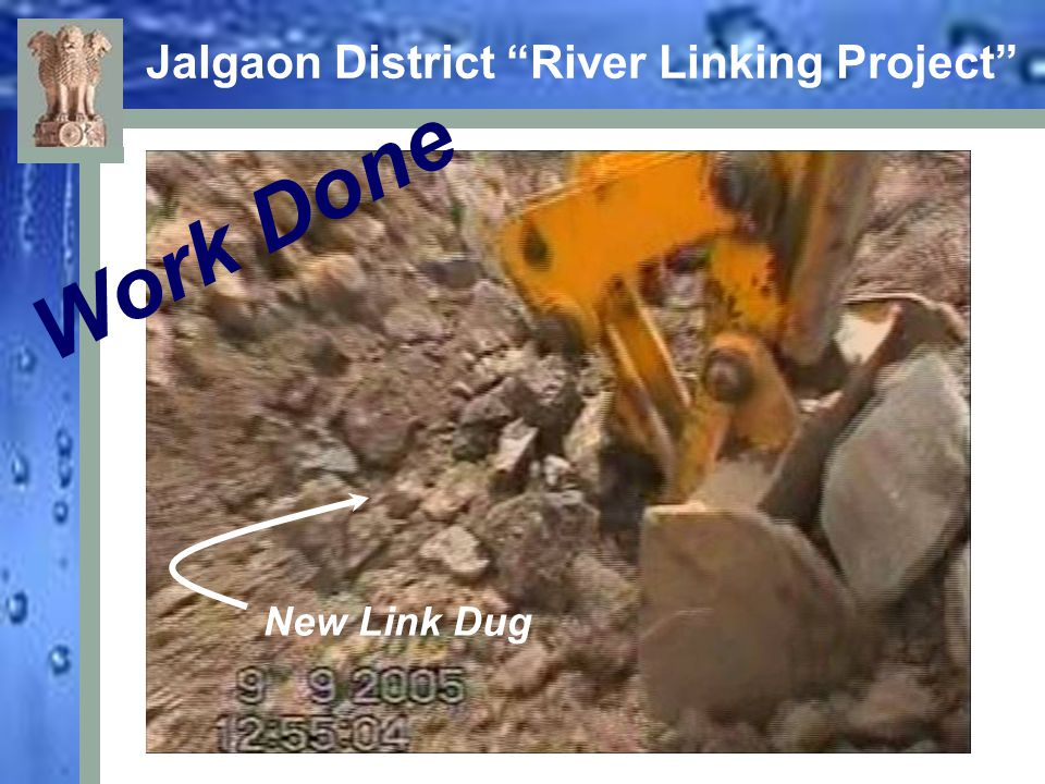 "Jalgaon District ""River Linking Project"" Work Done New Link Dug"