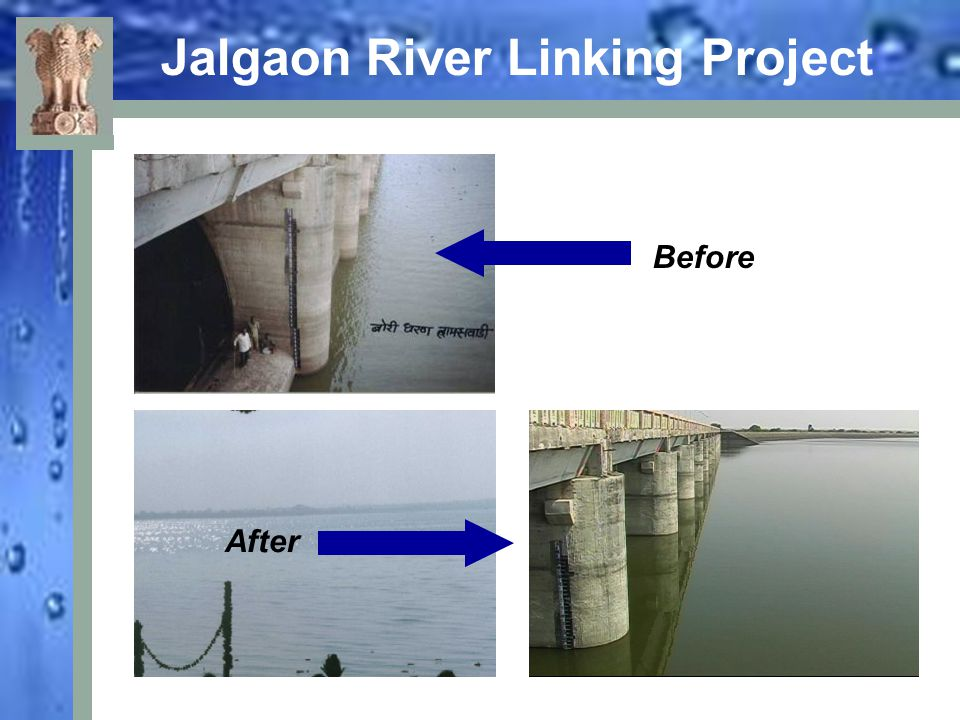 Jalgaon River Linking Project Before After
