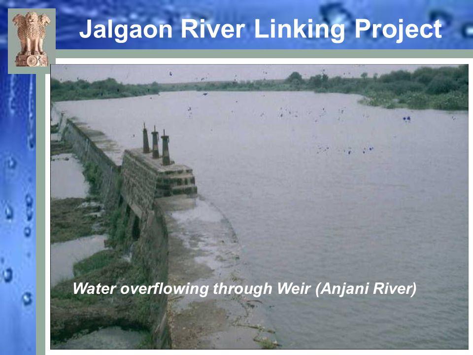 Jalgaon River Linking Project Farm pond filled up using Girna River water (Tahsil : Dharangaon)