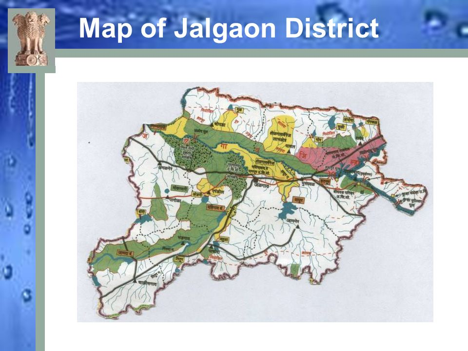 Map of Jalgaon District