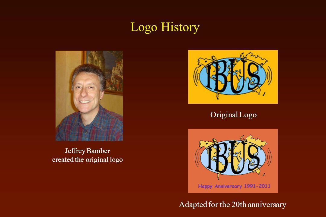 Logo History Jeffrey Bamber created the original logo Original Logo Adapted for the 20th anniversary