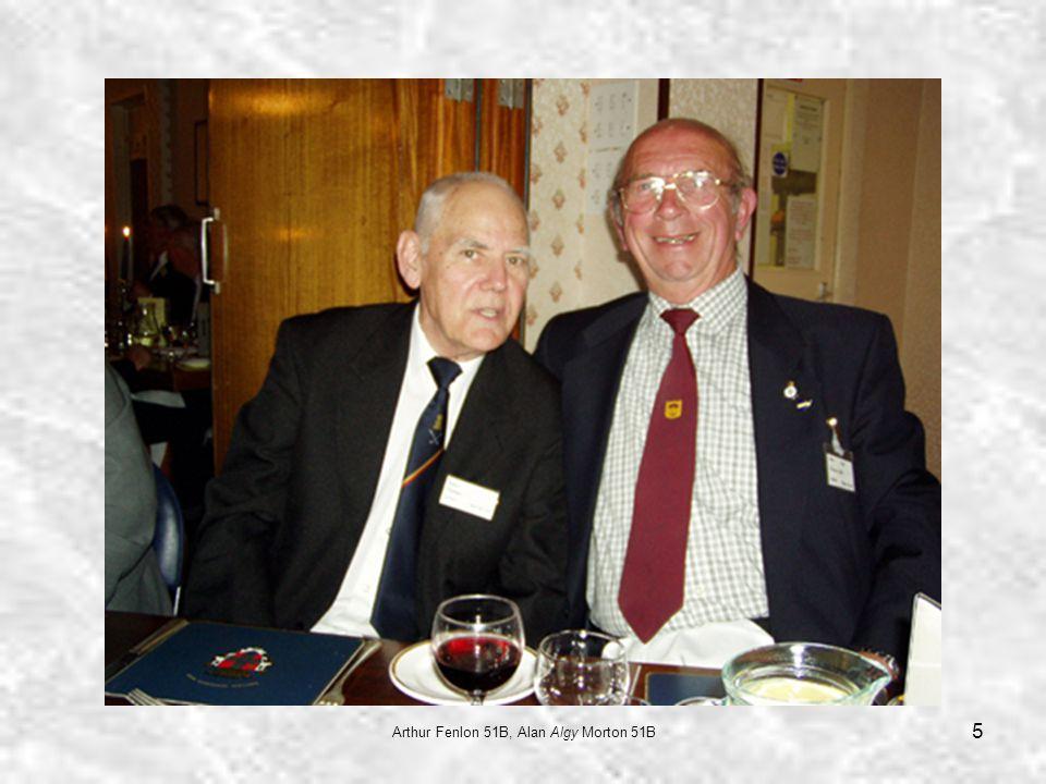 5 Arthur Fenlon 51B, Alan Algy Morton 51B