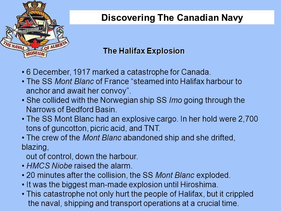 Discovering The Canadian Navy The Halifax Explosion The Halifax Herald front page, Friday, December 7, 1917.