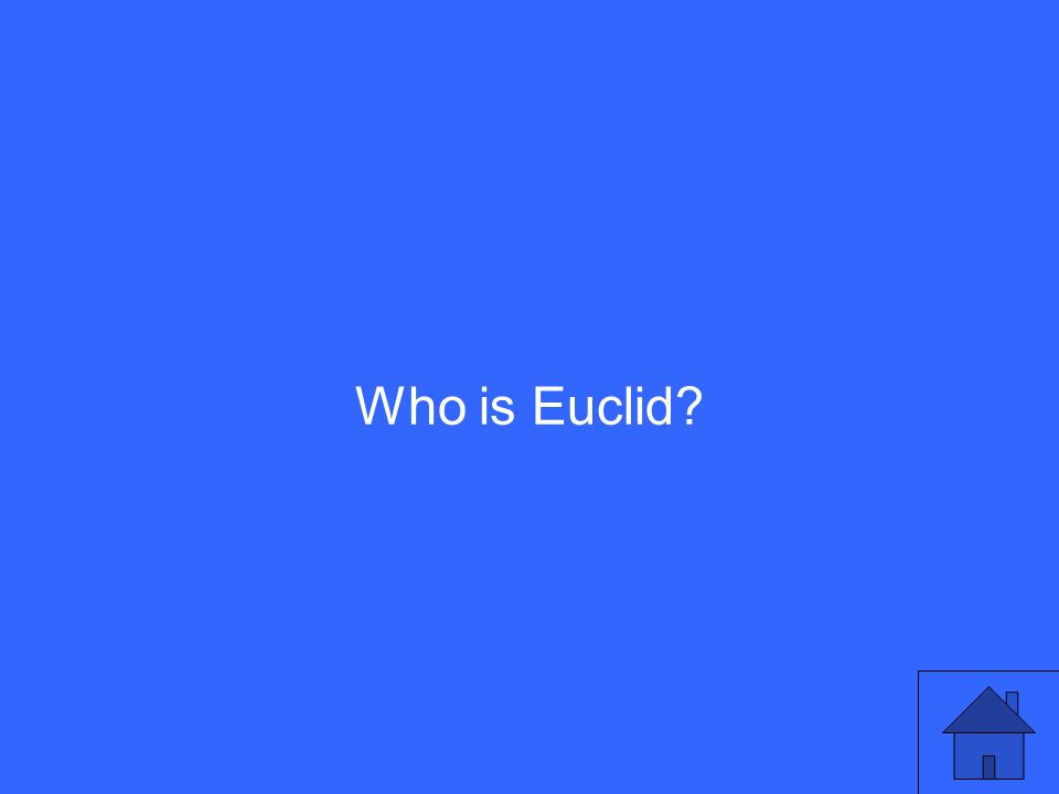 Who is Euclid?