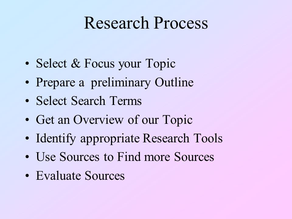 Other Sources Anthologies, Multi-author works, Monographs, Essays, Audio-Video materials, Web sites –OPAC –Databases, Indexes –WorldCat Periodical Articles, Theses, Dissertations, Professional Conference Proceedings, Organizational Proceedings, Personal Interviews –Indexes, Database –WorldCat