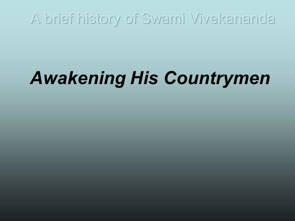Awakening His Countrymen
