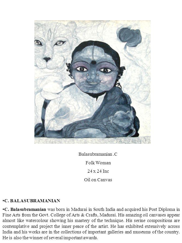 C. BALASUBRAMANIAN C.