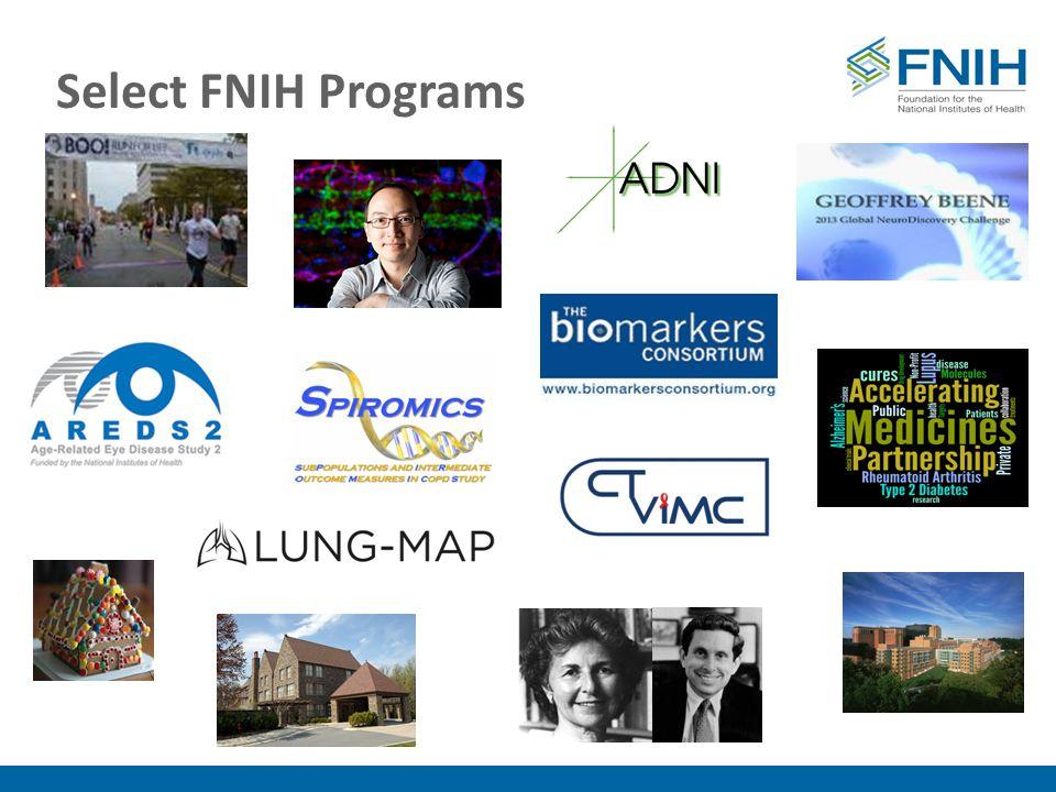 Select FNIH Programs