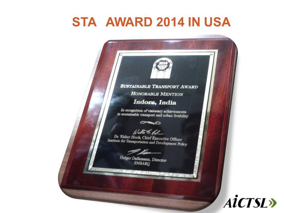 STA AWARD 2014 IN USA