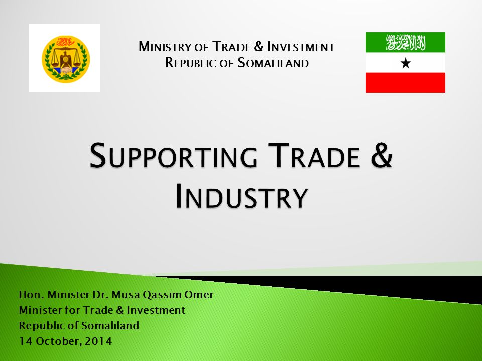  Security and democracy  Sound regulatory reforms & aggressive policies  Open and ready for investment  Prepared swift registration process  Provided attractive promotional tax incentives  Abundant natural resources  Strategic location in the horn of Africa and Middle East 2