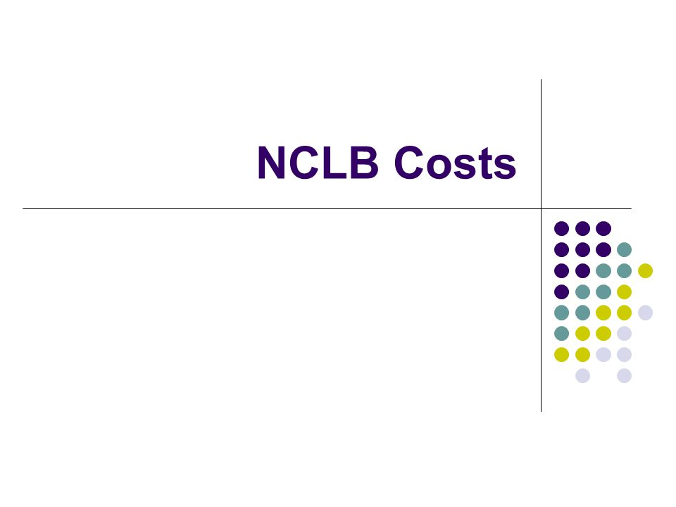 NCLB Costs
