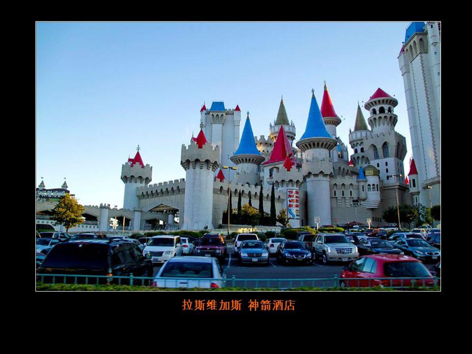 在拉斯维加斯, 每一家酒店都是赌场,这家是纽约酒店 。