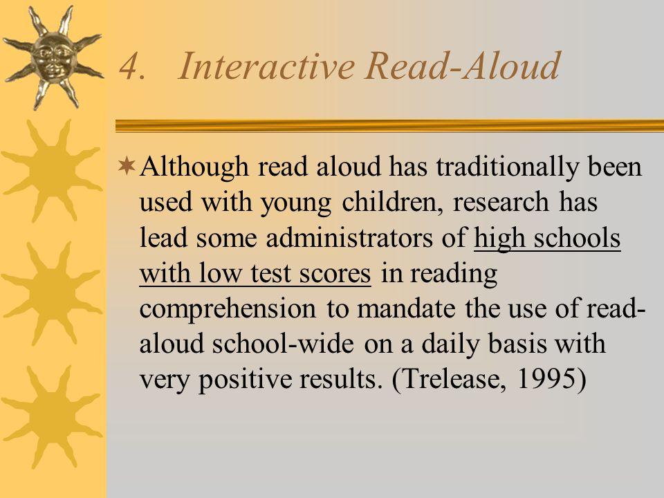 Read Aloud addresses…..