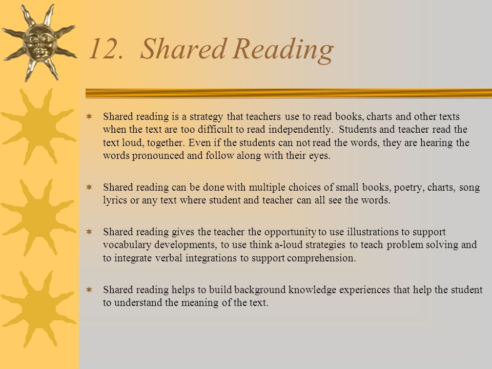 Step by Step: Shared Reading  Introduce the text-Predict from the illustrations on the cover.
