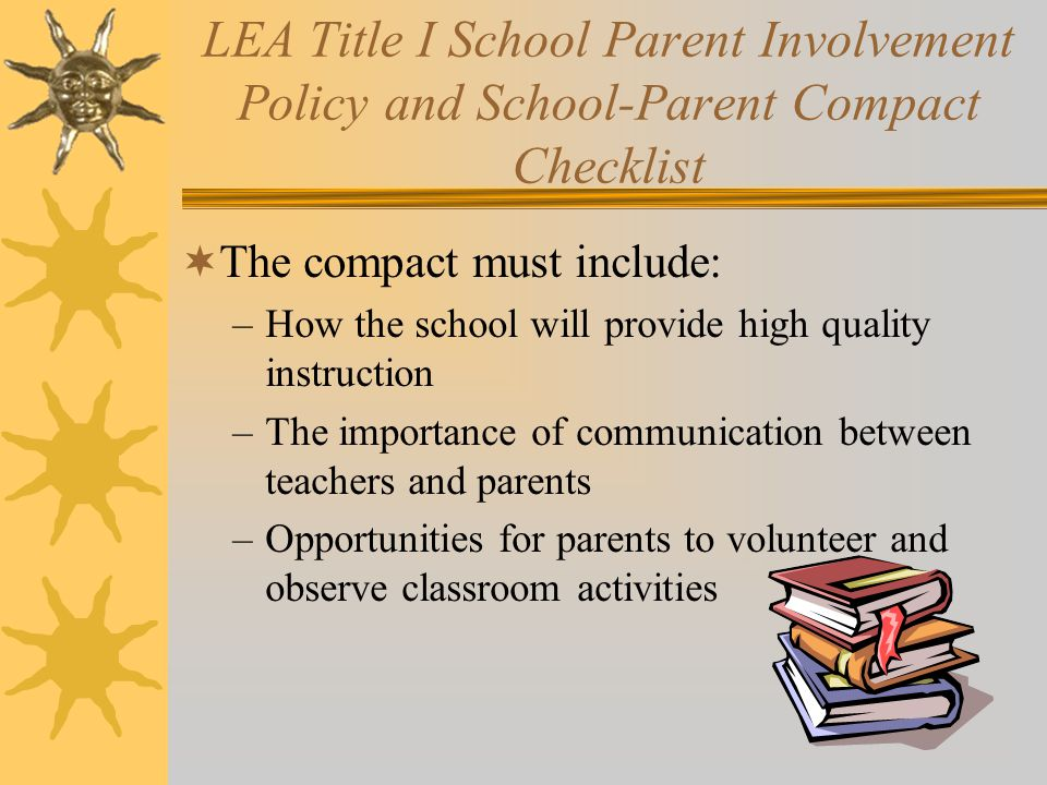 Homeless Education Policy and Procedures Checklist  Must be completed and returned to ADE with a copy of LEA Homeless Policy  Policy must ensure that homeless students are not segregated or stigmatized and receive immediate enrollment and transportation  Policy must designate a Homeless Liaison