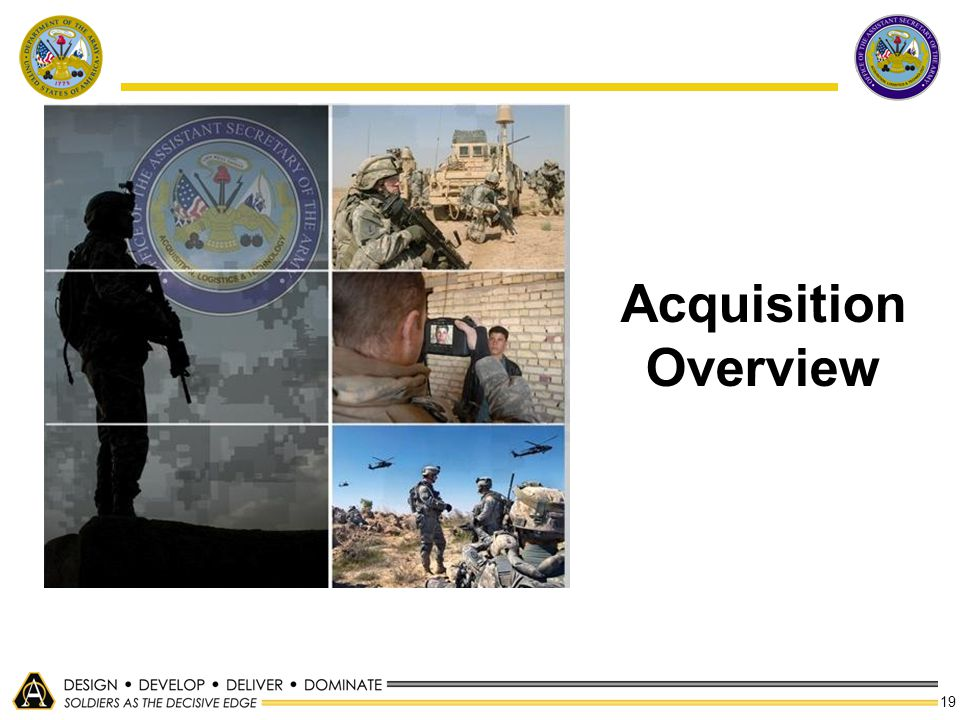 19 Acquisition Overview