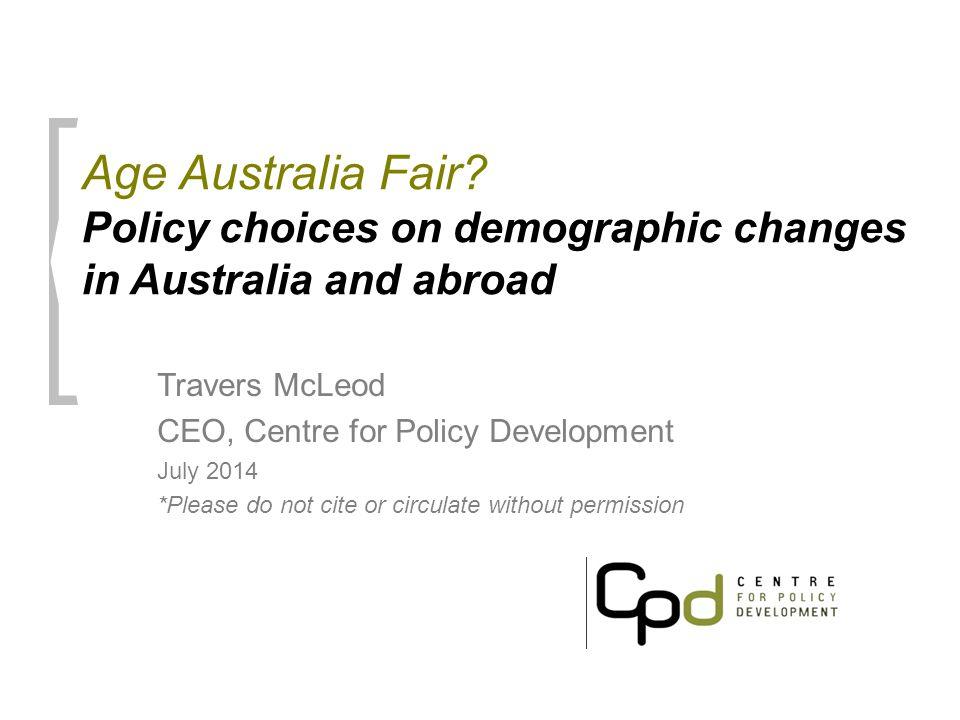 Age Australia Fair.