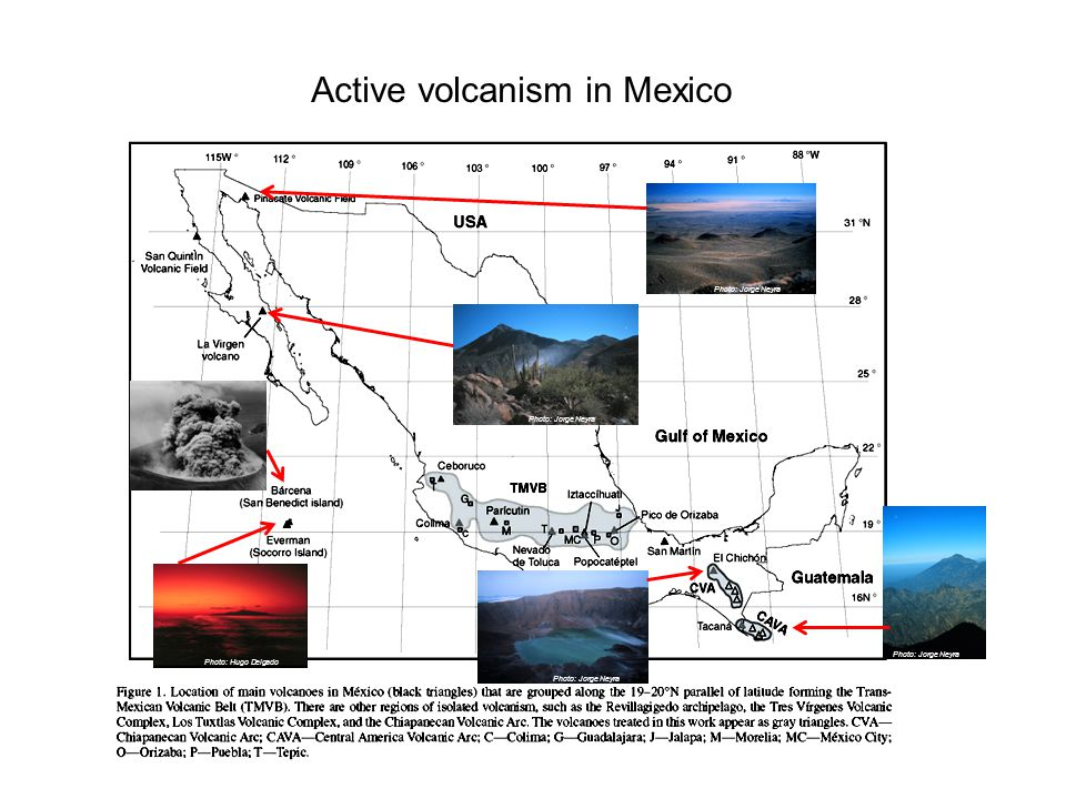 Volcán Popocatépetl Photo: Jorge Neyra