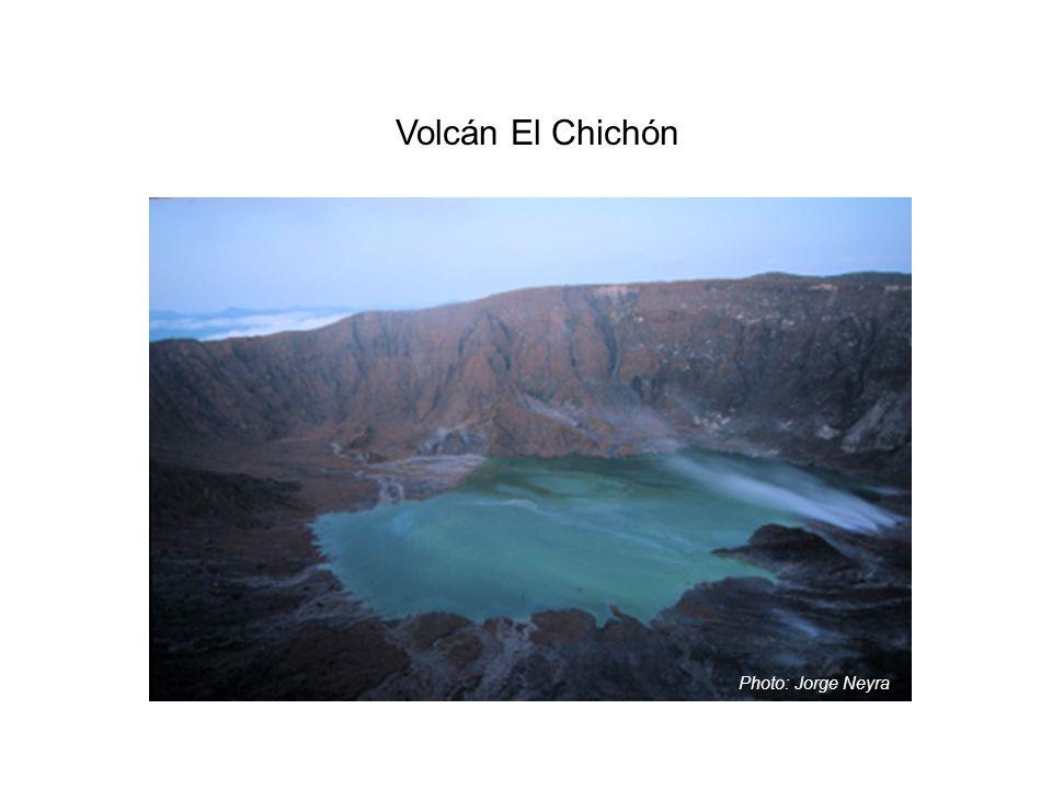 Volcán El Chichón Photo: Jorge Neyra