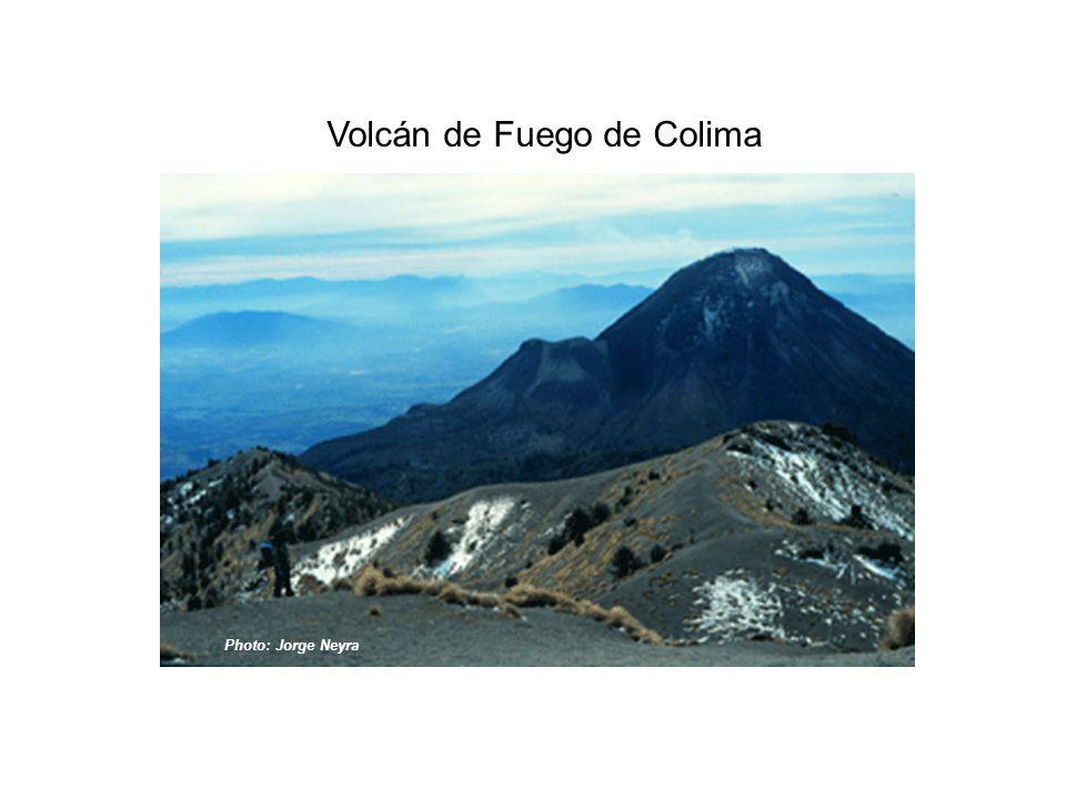 Volcán de Fuego de Colima Photo: Jorge Neyra