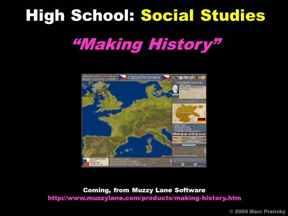 Tropical America High School: Social Studies © 2004 Marc Prensky Available Online http://www.tropicalamerica.com/