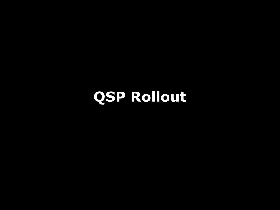 QSP Rollout