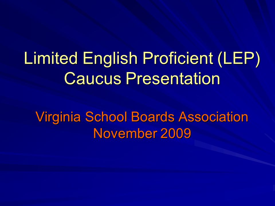 A standardized, statewide, local body of evidence allows for a more accurate assessment of a student's English language proficiency/WIDA level by taking into consideration multiple measures over a period of time.