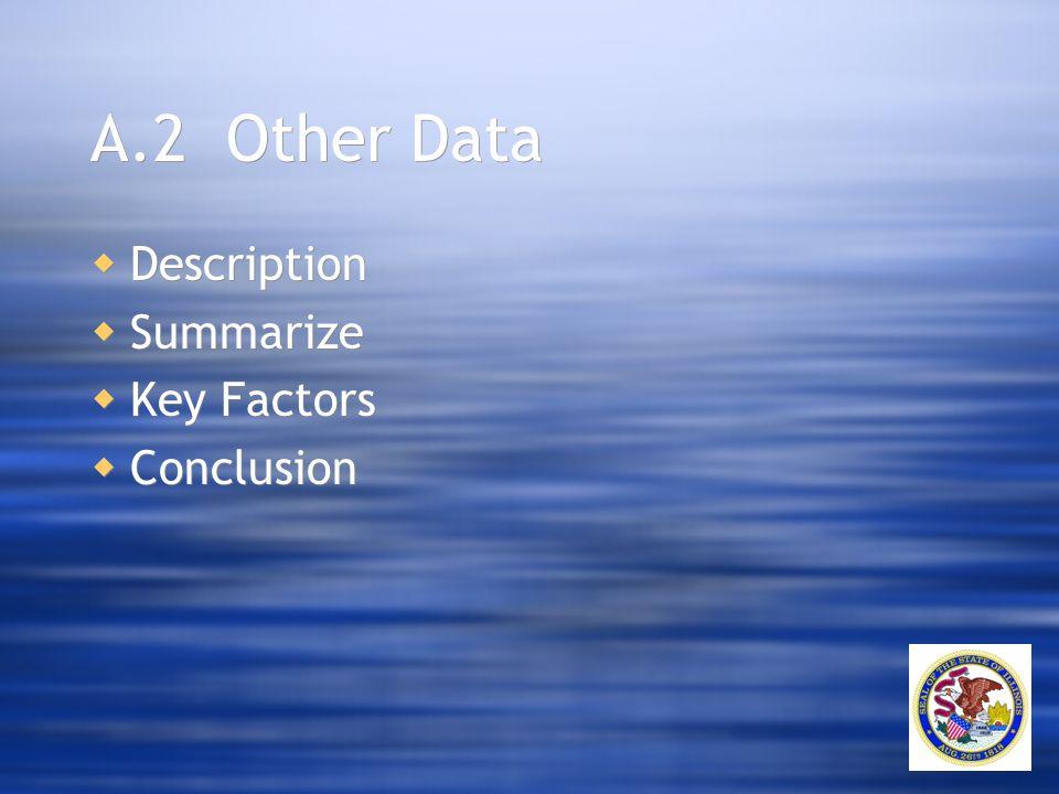A.2 Other Data  Description  Summarize  Key Factors  Conclusion  Description  Summarize  Key Factors  Conclusion