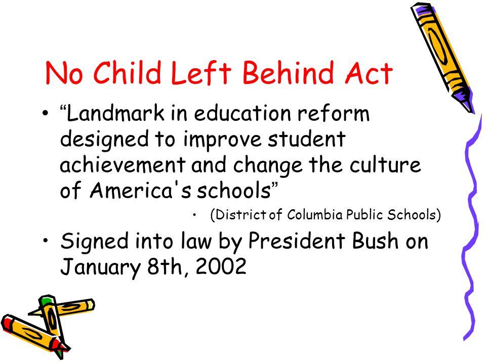 Roadmap Motivation Government ' s previous action No Child Left Behind (NCLB) Act Enforcement & Penalty Pros & Cons Conclusion
